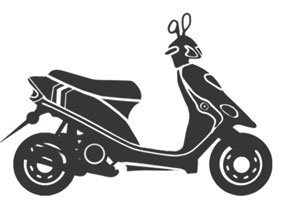 Запчасти к китайским скутерам